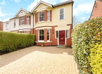 Thumbnail 3 bed semi-detached house for sale in Leckhampton Road, Cheltenham, Gloucestershire