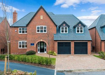 Thumbnail 5 bedroom detached house for sale in Convent Close, Roby Mill, Skelmersdale