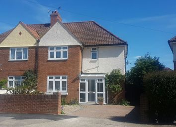 Thumbnail 3 bed semi-detached house for sale in Thackeray Road, Ipswich