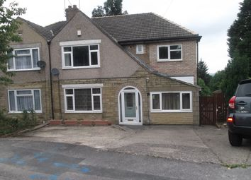Thumbnail 5 bed semi-detached house for sale in Shay Drive, Bradford