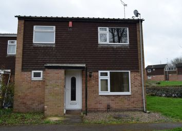 Thumbnail 3 bed end terrace house to rent in Rockingham Close, Leicester