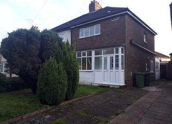 Thumbnail 3 bed semi-detached house to rent in Fordhouse Road, Wolverhampton