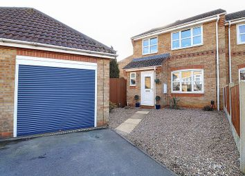 Thumbnail 3 bed semi-detached house for sale in Holly Close, Scunthorpe