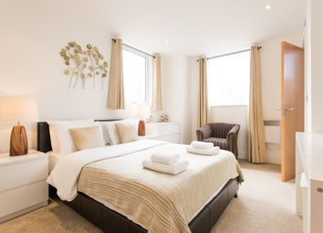Thumbnail 1 bed flat to rent in Jubilee Court, Wood Wharf, Maritime Greenwich