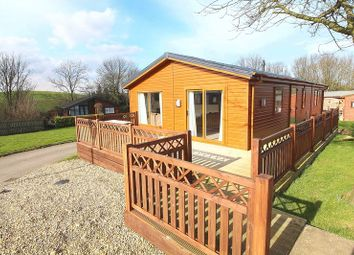 Thumbnail 3 bed mobile/park home for sale in Applegrove Lodges, Burniston, Scarborough