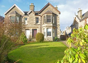 Thumbnail 4 bed semi-detached house for sale in 147 Glasgow Road, Perth