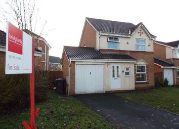 Thumbnail 3 bed detached house for sale in Somersby Close, Walton-Le-Dale, Preston, Lancashire