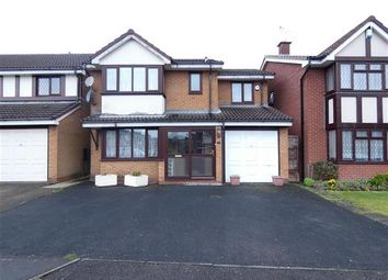 Thumbnail 4 bed detached house for sale in Fairlawns, Yardley, Birmingham