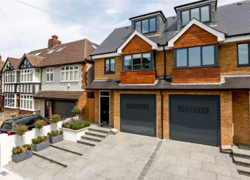 Thumbnail 4 bed semi-detached house for sale in Elmfield Avenue, Teddington