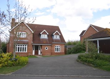 Thumbnail 4 bed detached house to rent in Swan Gardens, Tetsworth, Oxfordshire