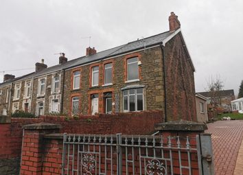 Thumbnail 2 bed end terrace house to rent in Clydach Road, Morriston