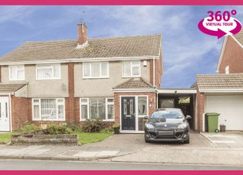 Thumbnail 3 bed semi-detached house for sale in Witla Court Road, Rumney, Cardiff
