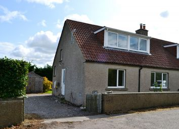 Thumbnail 3 bed flat to rent in Mains Of Burgie Cottages, Forres