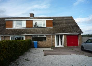 Thumbnail 3 bed semi-detached bungalow to rent in Pillaton, Penkridge, Staffs