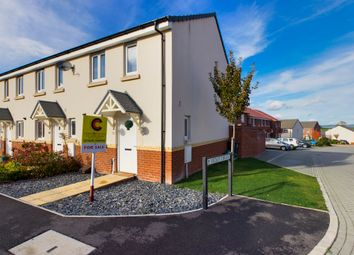 Thumbnail 2 bed end terrace house for sale in Cowslip Crescent, Newton Abbot