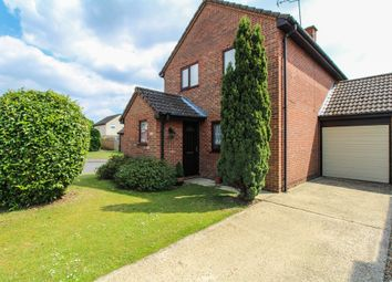 Thumbnail 3 bedroom link-detached house for sale in Wren Close, Mildenhall, Bury St. Edmunds