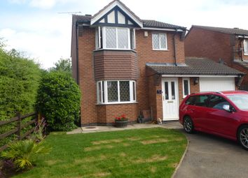 Thumbnail 3 bed detached house to rent in Kinross Way, Hinckley