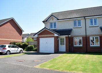 Thumbnail 3 bedroom semi-detached house for sale in 24 Mains Drive, Lockerbie, Dumfries & Galloway