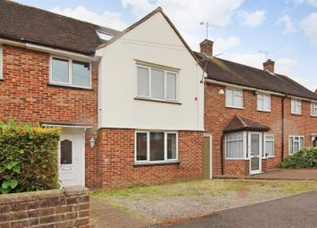 Thumbnail 3 bed terraced house for sale in Chafy Crescent, Sturry, Canterbury