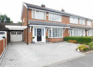 Thumbnail 3 bed semi-detached house for sale in Patch Lane, Bramhall, Stockport