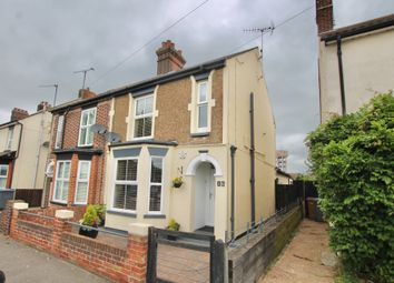Thumbnail 3 bed semi-detached house for sale in High Road, Trimley St Mary