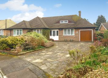 Thumbnail 4 bedroom detached bungalow for sale in Howell Hill Close, Epsom