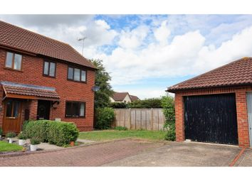 Thumbnail 3 bed semi-detached house for sale in St. Michaels Close, Evesham