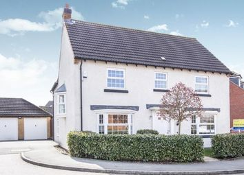 Thumbnail 4 bed detached house for sale in Billesdon Close, Leicester