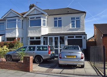 Thumbnail 4 bed semi-detached house for sale in Churchbury Lane, Enfield, Greater London