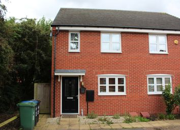 Thumbnail 2 bed semi-detached house for sale in Teeswater Close, Long Lawford, Rugby