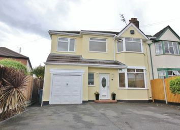 Thumbnail 5 bedroom semi-detached house for sale in Stuart Avenue, Hunts Cross, Liverpool