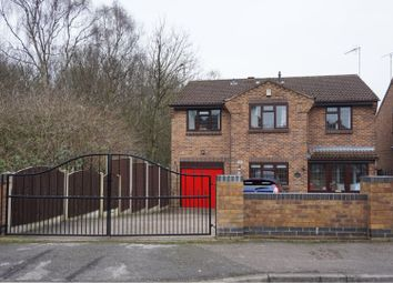 Thumbnail 5 bed detached house for sale in Coppice Drive, Heanor