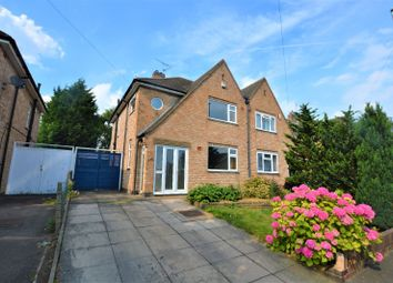 Thumbnail 3 bedroom semi-detached house to rent in Uplands Road, Oadby, Leicester