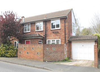 Thumbnail 3 bed detached house to rent in Station Road, Meopham, Gravesend