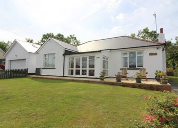 Thumbnail 4 bedroom detached bungalow for sale in Tonypistyll Road, Pentwynmawr, Newbridge