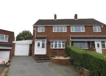 Thumbnail 3 bedroom semi-detached house for sale in Whitehall Road, Wolverhampton