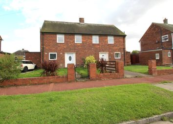 Thumbnail 2 bed semi-detached house for sale in Angerton Avenue, North Shields, Tyne And Wear