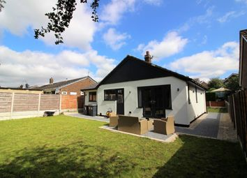 Thumbnail 3 bed detached bungalow for sale in Green Lane, Hadfield, Glossop