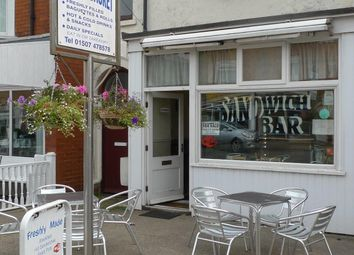 Thumbnail Restaurant/cafe for sale in 31 Victoria Road, Mablethorpe