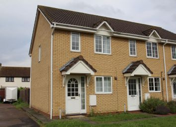Thumbnail 2 bedroom end terrace house to rent in Moat Way, Swavesey, Cambridge