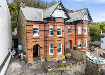 Barbican Hill, Looe, Cornwall PL13. 4 bed semi-detached house for sale