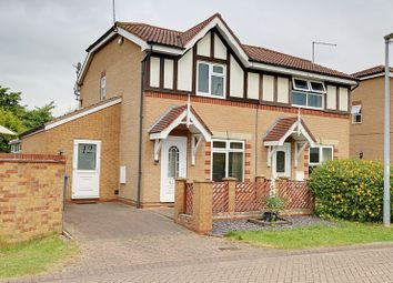 Thumbnail 3 bed semi-detached house for sale in Bishop Blunt Close, Hessle