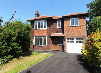 Thumbnail 4 bed detached house to rent in Barrington Avenue, Cheadle