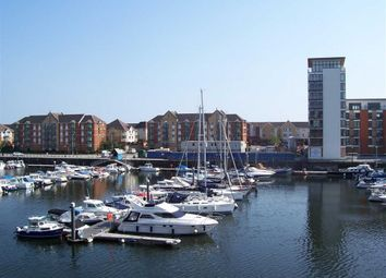 Thumbnail 2 bedroom flat for sale in Penryce Court, Maritime Quarter, Swansea