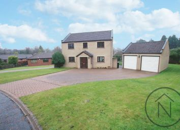 Thumbnail 4 bed detached house for sale in Stoneleigh Court, Newton Aycliffe