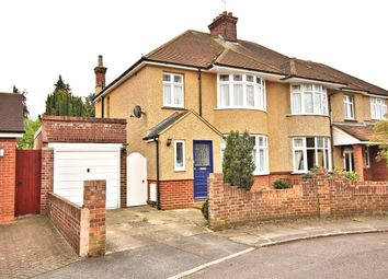 Thumbnail 3 bed semi-detached house for sale in Everard Road, Bedford
