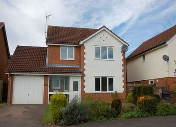 Thumbnail 4 bedroom detached house for sale in Kendal Close, Boothville, Northampton