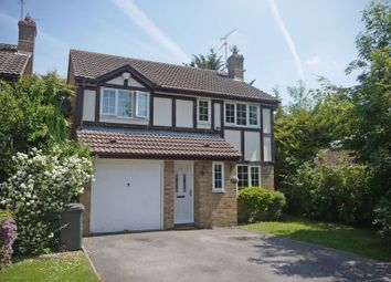 Thumbnail 4 bed detached house for sale in Saddleback Road, Shaw, Swindon