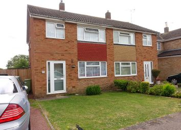Thumbnail 3 bed semi-detached house to rent in Wye Close, West Bletchley, Milton Keynes