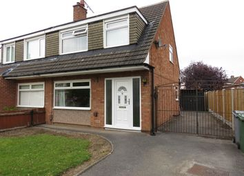 Thumbnail 3 bed semi-detached house for sale in Sutherland Drive, Bromborough, Wirral